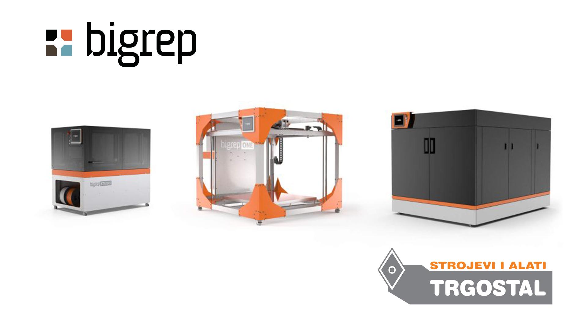 BIGREP - 3D pisači