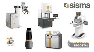 SISMA - Laseri za zavarivanje, označavanje, rezanje, 3D Printeri LMF I DLP