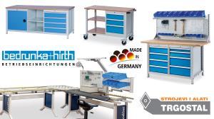 Bedrunka Hirth - tvornička oprema