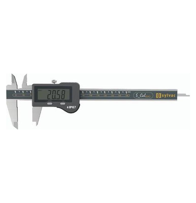 Pomično mjerilo 0- 150/0,01mm digitalno IP67 SYLVAC S_Cal EVO
