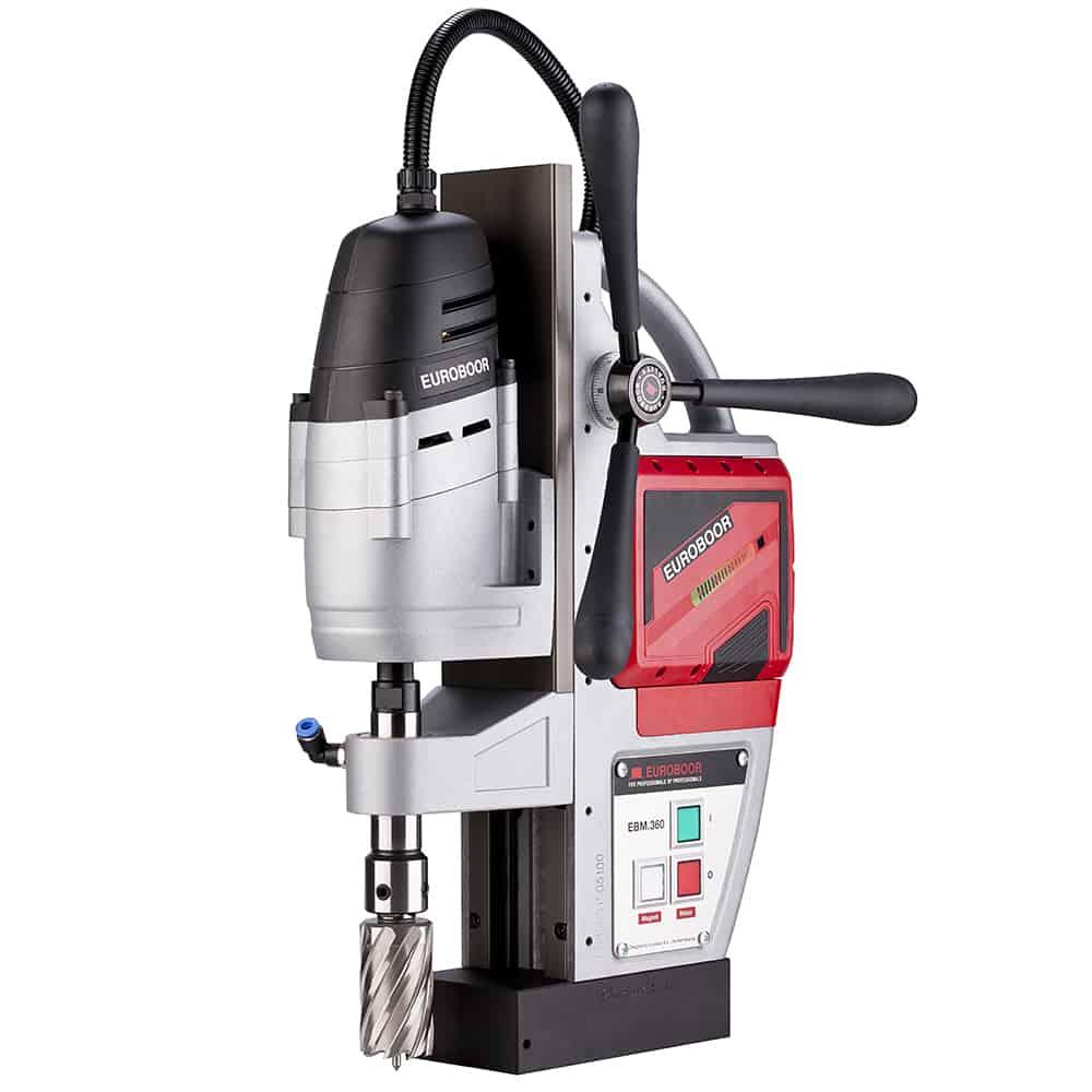 Magnetna bušilica EBM.360 EUROBOOR; Akumulatorska