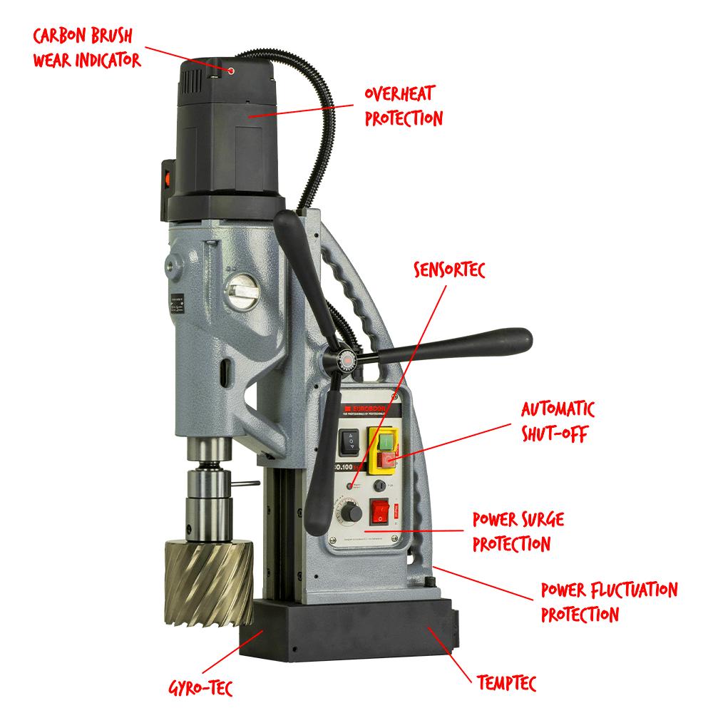 Magnetna bušilica ECO.100S+/T EUROBOOR