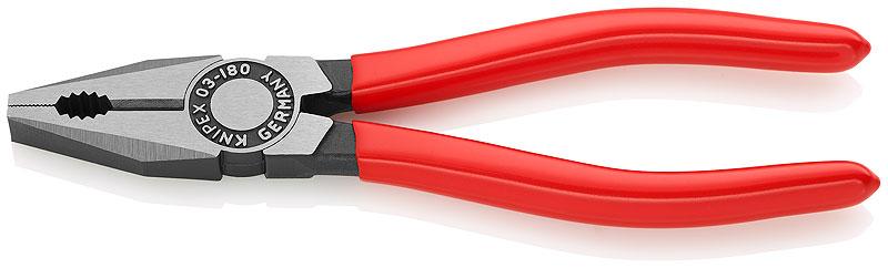 Kliješta kombinirana 180mm polirana PVC izolirana (60HRc) KNIPEX