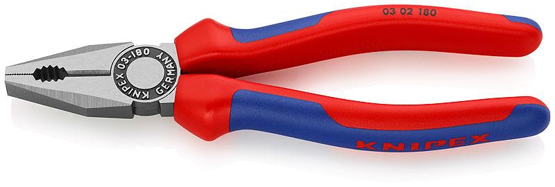 Kliješta kombinirana 180mm polirana izolirana (60HRc) KNIPEX