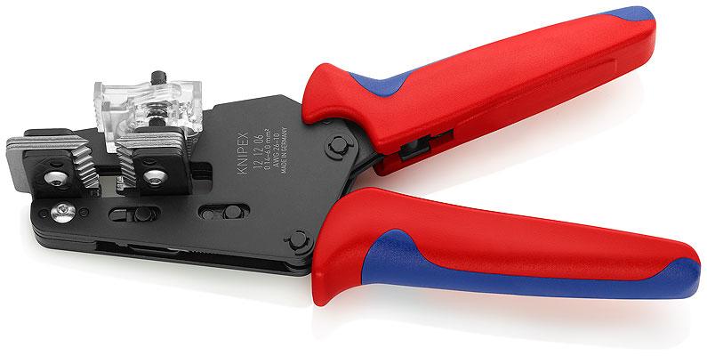 Kliješta za skidanje izolacije   0,14- 6mm2 AWG 26-10 precizna KNIPEX
