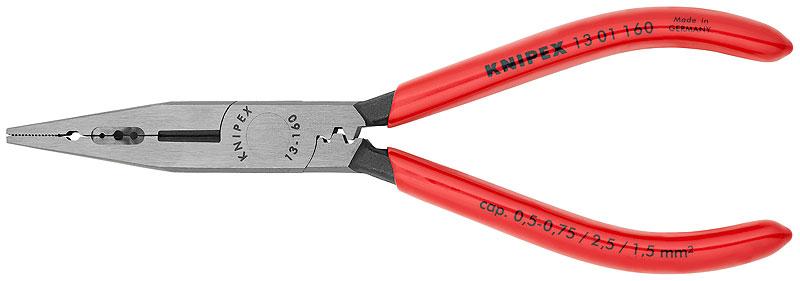 Kliješta za skidanje izolacije 160mm kromirana izolirana KNIPEX