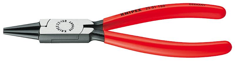 Kliješta okrugla 125/27mm polirana PVC izolirana KNIPEX