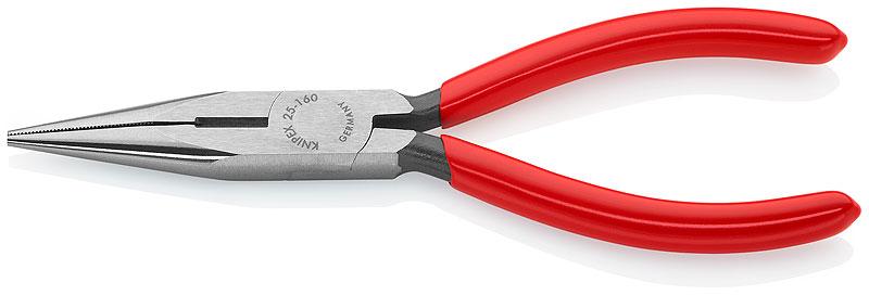 Kliješta špic-kriva 160/50mm sjekača polirana PVC izolirana KNIPEX