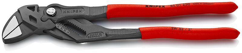 """Kliješta/ključ papige 250mm (1.3/4""""/46mm) niklana PVC izolirana KNIPEX"""