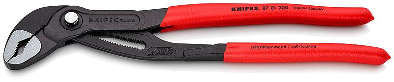 """Kliješta papige 300mm (2.3/4"""") polirana PVC izolirana KNIPEX Cobra"""