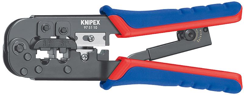Kliješta za telefonske stopice RJ11/12,45 (6/8P) KNIPEX