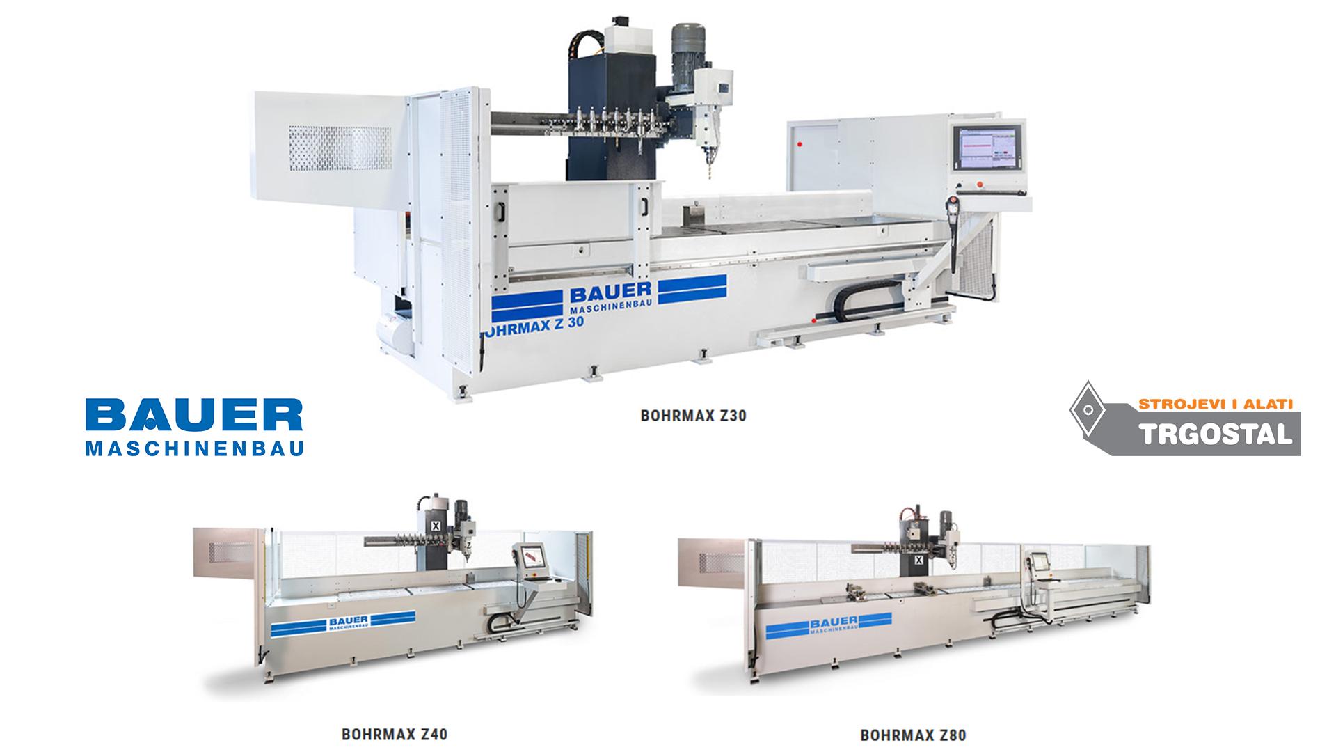 BAUER Maschinenbau - CNC bušilice