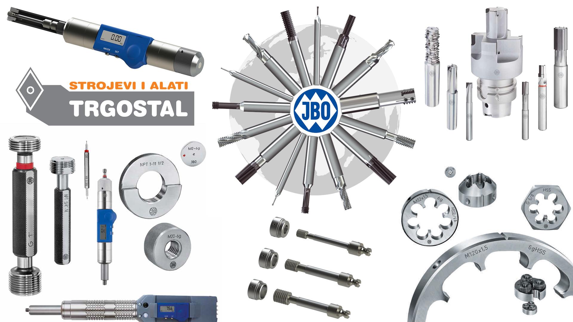 JOHS BOSS GmbH - Kontrolni kalibri i matice za navoje, glodala za izradu navoja