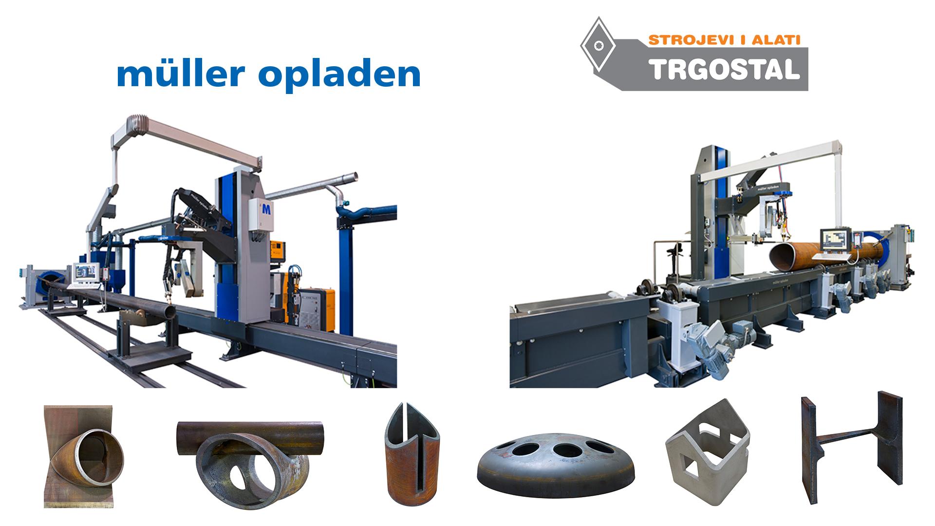 MÜLLER OPLADEN GmbH - Strojevi za 3D rezanje cijevi i profila te automatsko zavarivanje