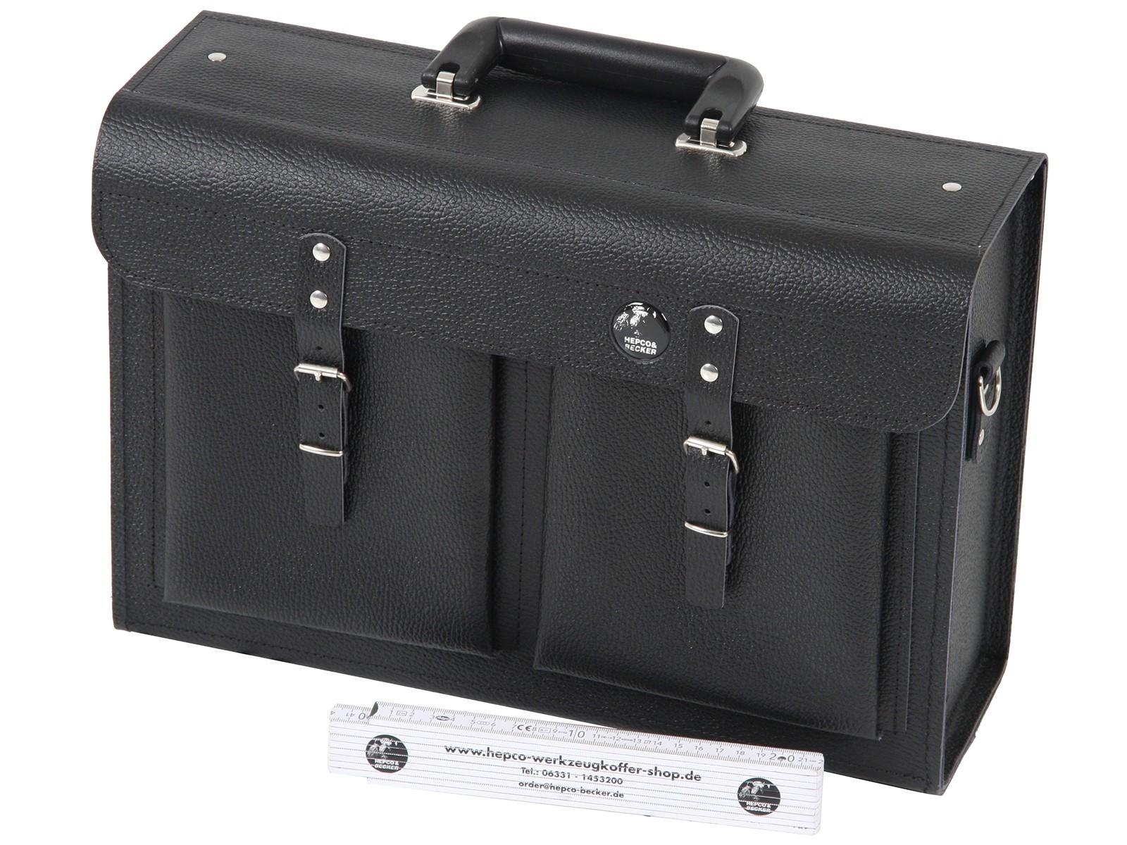 Torba za alat 390x120x260mm kožna PRIMAT