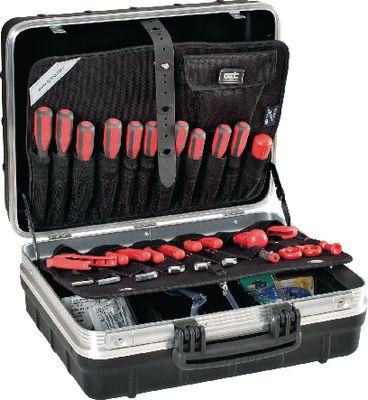 Kofer za alat 465x352x215mm s utičnim pretincima PTS FUTURO